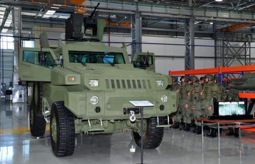 Казахстан почав випускати власну бронетехніку (фото)