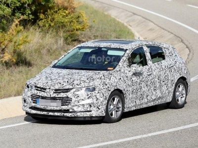 Новий Chevrolet Cruze 2017 помічений під час тестів