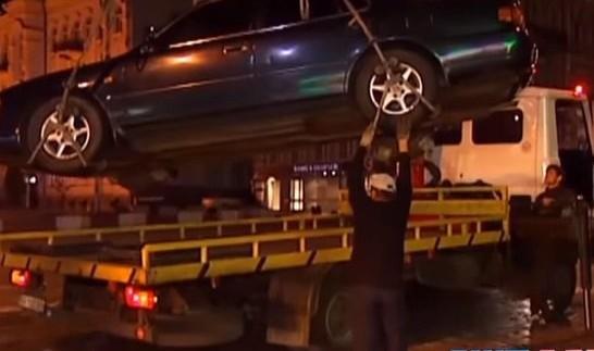 Сім кіл пекла або пошуки машини на штрафмайданчику (відео)