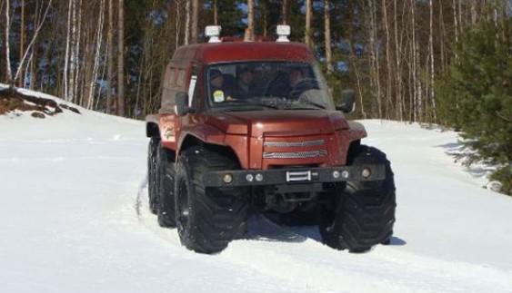 Білоруський всюдихід МАС для арктичного бездоріжжя (ФОТО)