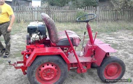 Умілець зібрав трактор з «Запорожця» (відео)