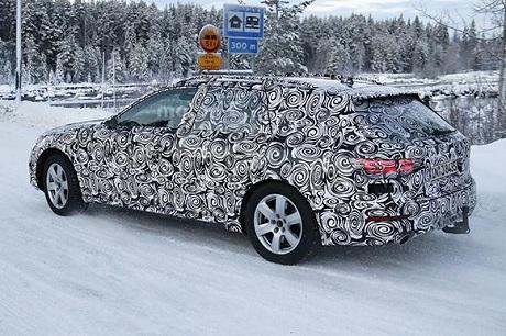 Шпигунські фотографії Audi A4 allroad наступного покоління