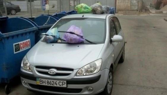 В Одесі оригінально помстилися герою парковки