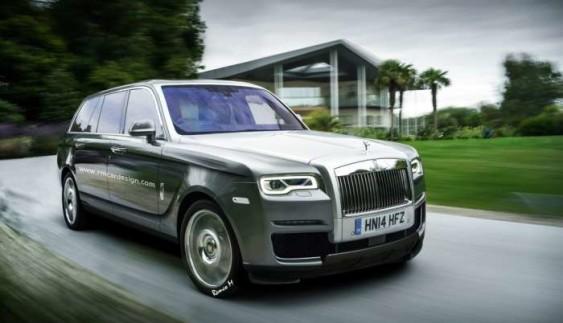 А-ля Range Rover: таким може бути новий позашляховик Rolls-Royce ?!