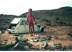 Як зробити мотоцикл з машини в умовах пустелі