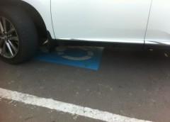 Мажор на «Lexus» вирішив, що він інвалід, і зайняв парковку