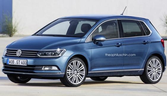 Первое изображение Volkswagen Polo следующего поколения