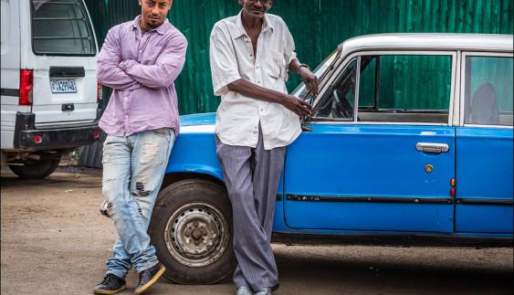 Ефіопське таксі ВАЗ-2101 (фото)