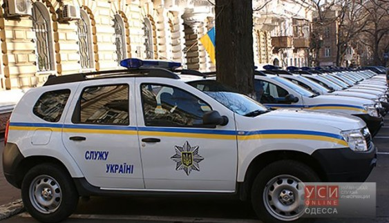 Одеська поліція отримала партію новеньких Renault Duster