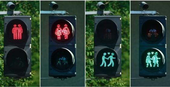 В австрійському місті відмовилися від «світлофорів для геїв»