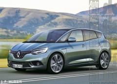 Перше зображення оновленого Renault Scenic