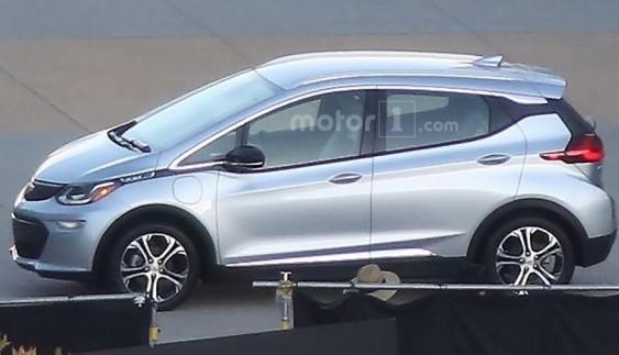 Електромобіль Chevrolet Bolt: перші фото