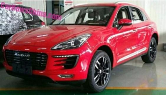 Китайський клон Porsche Macan: нові подробиці