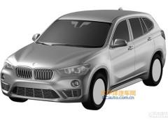 Патентные изображения 2016 BMW X1 2016 с удлиненной колесной базой
