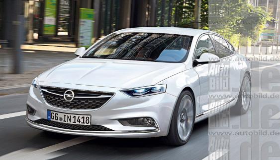 Нова Opel Insignia: перші технічні подробиці