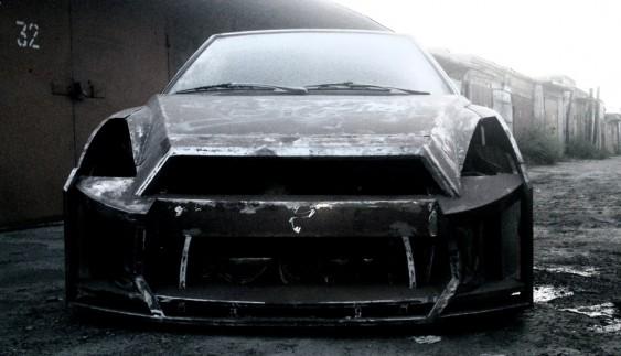 Як з ВАЗ-2108 зробили трьохдверний Nissan GT-R