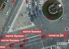 Як заради проїзду кортежу Яценюка перекривають вулиці в Києві (відео)