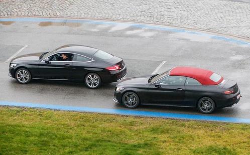 У Мережі з'явилися фото кабріолета Mercedes-Benz C-класу без камуфляжу
