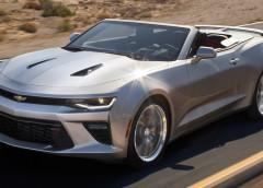 Новая информация о Chevrolet Camaro Convertible (фото)