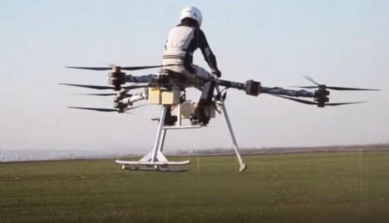 Представлено перший у світі літаючий мотоцикл (відео)