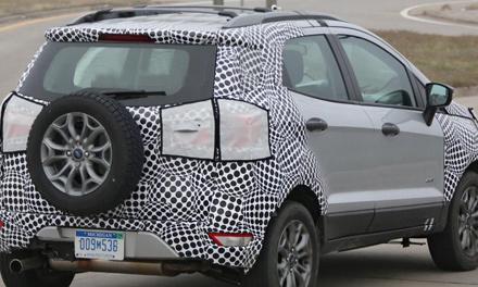 Позашляховик Ford EcoSport 2017 спіймали під час тестів