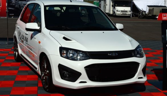 Випущена найдорожча модель в лінійці АвтоВАЗ – Lada Kalina NFR