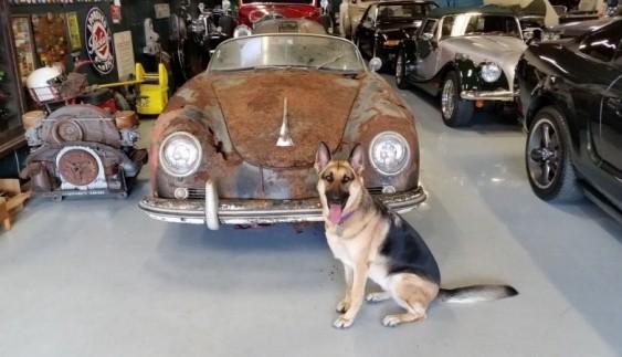Заржавевшее раритетное Porsche купили за $ 152 700