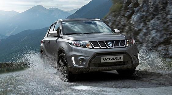В Україні з'явиться заряджена версія Suzuki Vitara