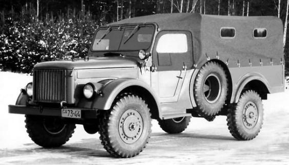 Дослідний автомобіль ГАЗ 62 1952-54 року