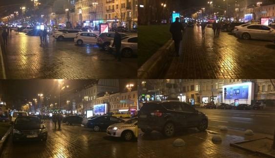 У центрі Києва провалився експеримент проти автохамів
