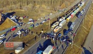 До уваги водіїв: деякі українські траси перекрито