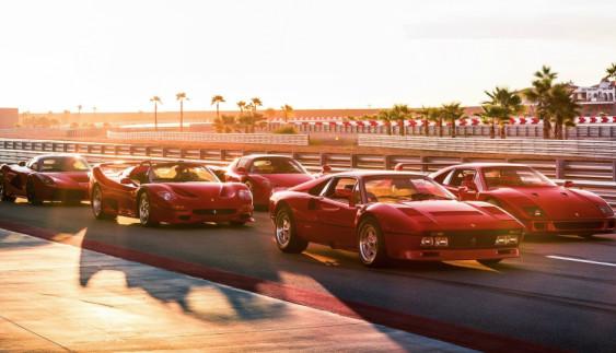 5 легенд на одному треку: як порівнювали одні з найкрутіших Ferrari (ВІДЕО)