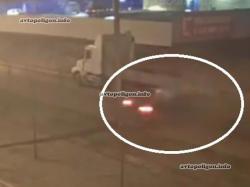 Як водій іномарки не побачив вантажівку і поплатився життям