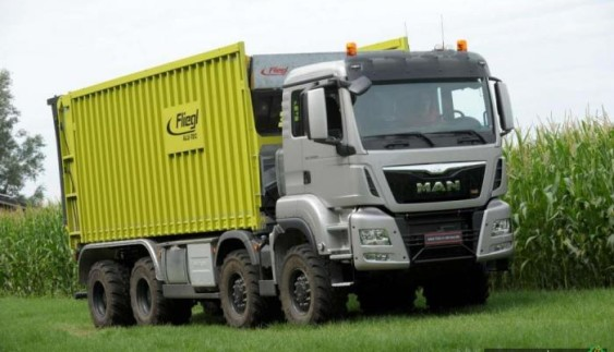 MAN випустив нову вантажівку для сільського господарства