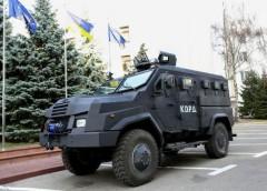 """Презентовано український броньовик, який надійде на озброєння спецназу """"КОРД"""""""