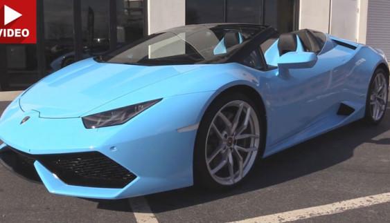 Lamborghini Huracan LP 580-2 RWD: оглядове відео про авто