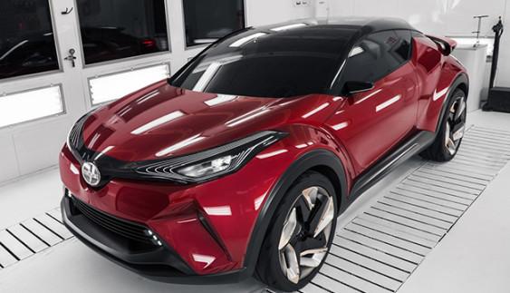Нова інформація про маленький кросовер Toyota