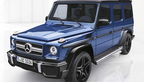 """Легендарний """"Кубик"""" від Mercedes-Benz приміряє ексклюзивний дизайн-пакет"""