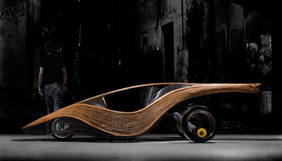 Єдиний у світі… бамбуковий автомобіль