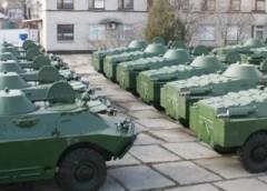 В Україні виготовлено нову партію бронемашин (фото)