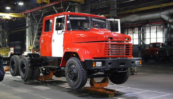 Виробництво вантажівок в Україні різко скоротилося