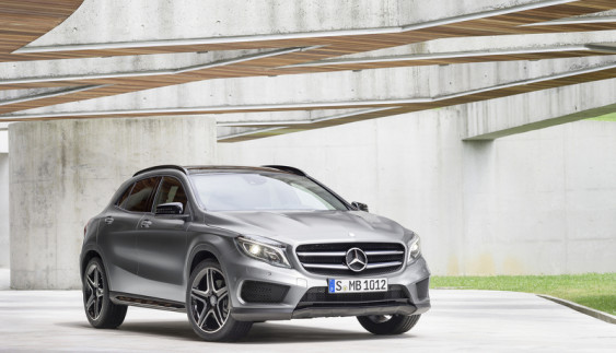 Mercedes-Benz предложит ряд обновлений для GLA 2016