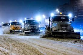 Як у Європі чистять дороги від снігу (відео)