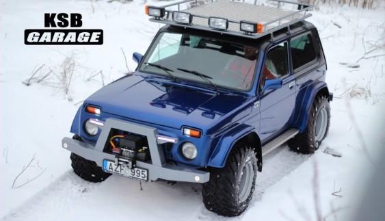 Вражаюче: литовський тюнінг радянського автомобіля