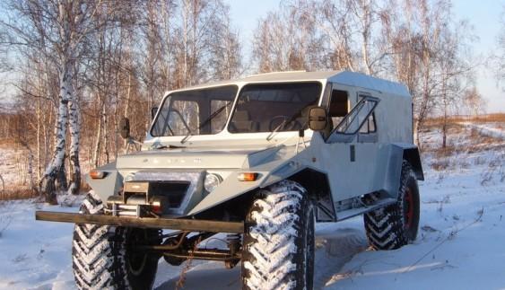 Найпотужніші всюдиходи російського виробництва