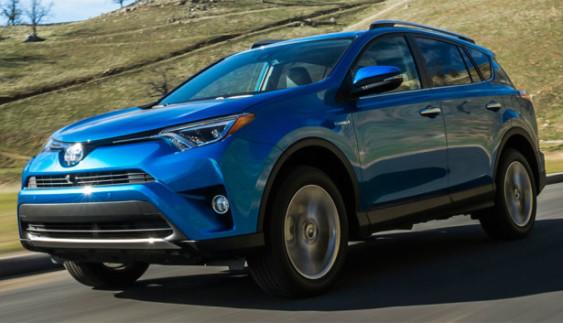 Toyota протестувала гібридний RAV4