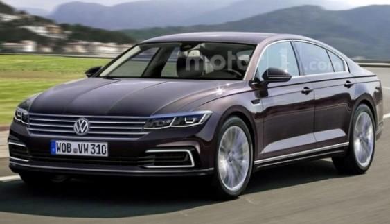 Volkswagen Phaeton показали на рендерних зображеннях