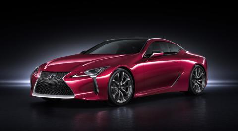 Maserati по-японськи: Lexus показав свою нову модель LC 500 (ФОТО)