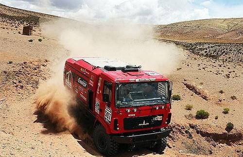 Новітня вантажівка МАЗ на Дакарі виявилася найнадійнішою (фото)