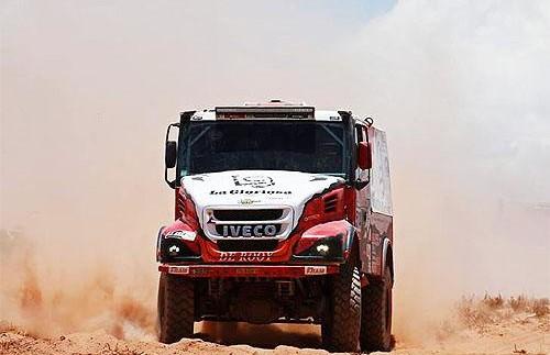 На яких вантажівках IVECO виграла Дакар 2016 (фото)